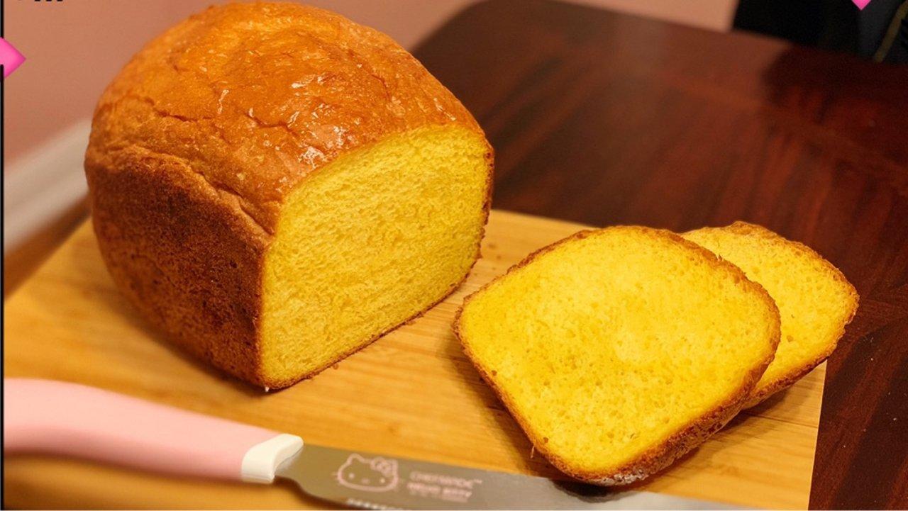 南瓜吐司面包(面包机教程)