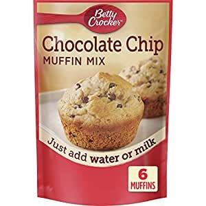 Betty Crocker Chocolate Chip Muffin Mix, 9 Pack, 6.5 oz