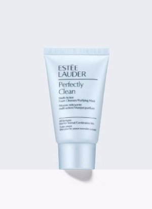 Perfectly Clean Multi-Action Foam Cleanser/Purifying Mask | Estée Lauder Official Site