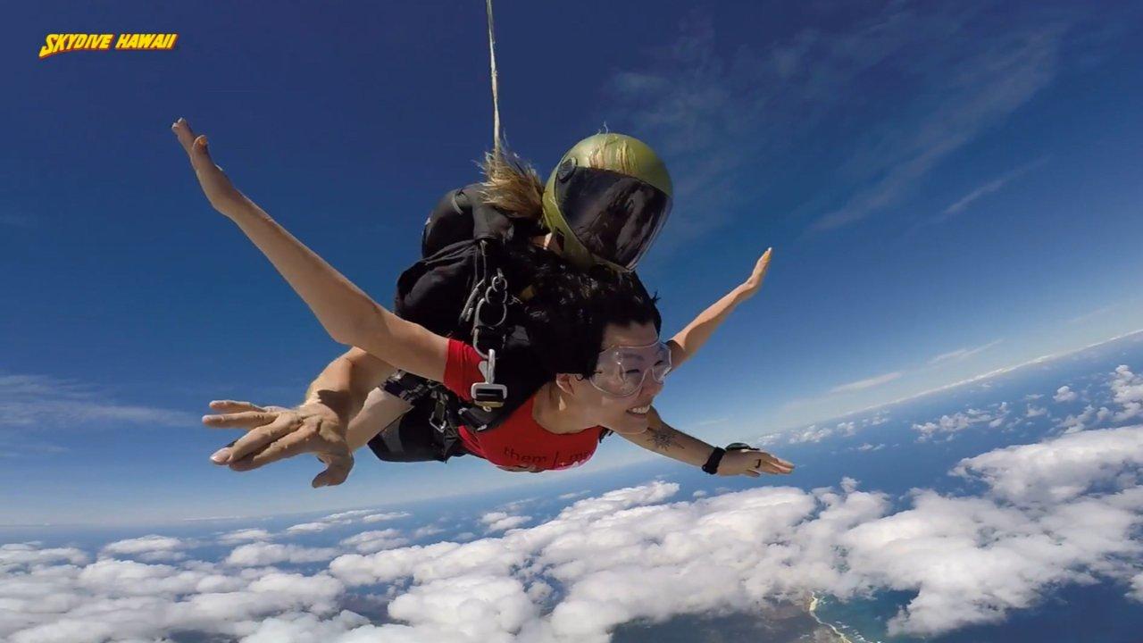"""【夏威夷欧胡岛攻略】你,""""飞""""过吗?来北岸跳伞吧!"""
