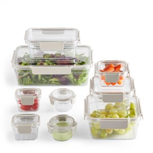 Better Homes & Garden 防漏塑料食物保鲜盒 18件套