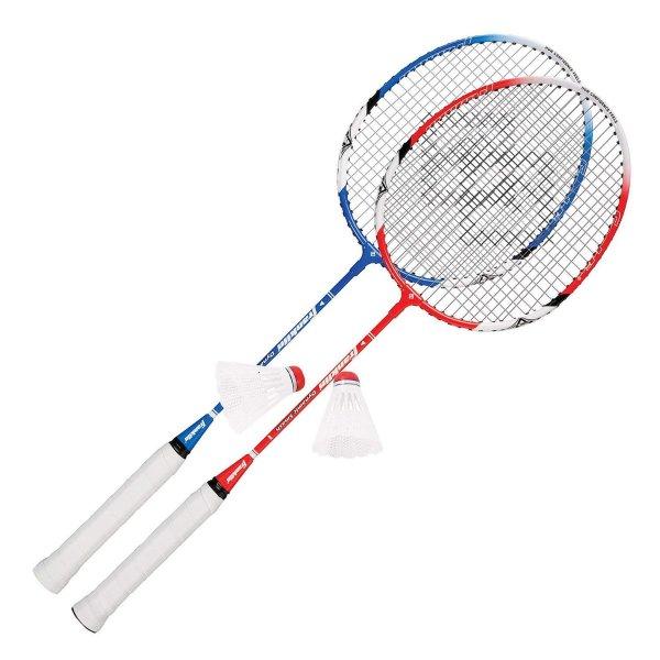 Franklin Sports 双人羽毛球拍+球套装