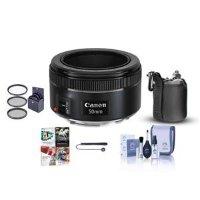 Canon EF 50mm f/1.8 STM 定焦单反镜头 + 配件