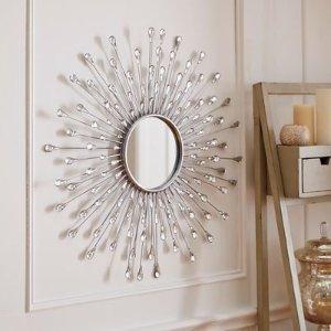 Natalie Sunburst Round Mirror | Pier 1 Imports