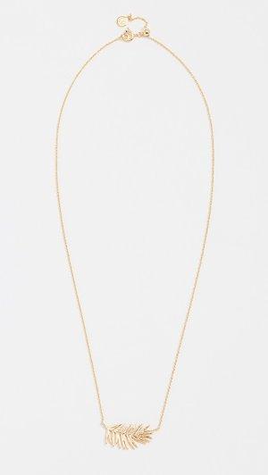 Gorjana Palm Adjustable Necklace | 15% off 1st app order use code: 15FORYOU