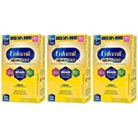 Enfamil NeuroPro 金樽婴儿奶粉, 31.4 盎司,4盒