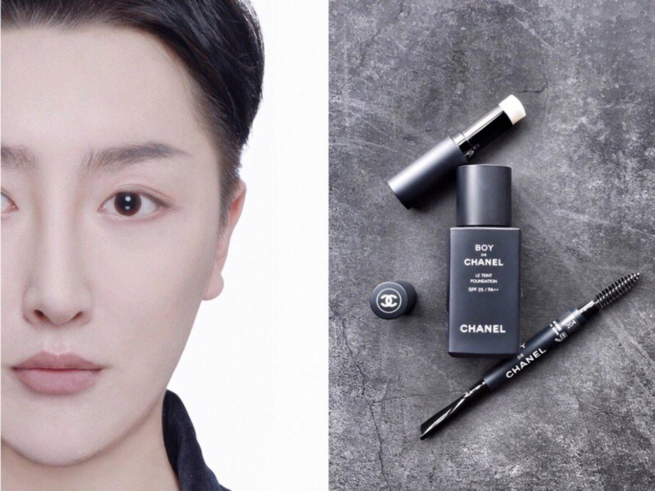 Boy de Chanel|香奈儿首个男士化妆品系列