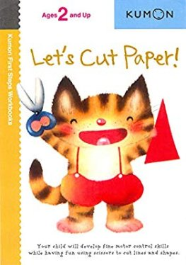 Let's Cut Paper! (Kumon First Steps Workbooks): Kumon: 8601404304996: Amazon.com: Books