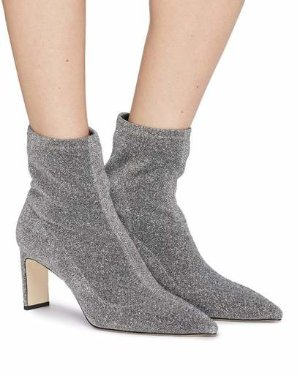 HART - POINTED SOCK BOOTIES | PUMPS | All Shoes | Pedder Red