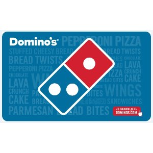 $42.50Domino's Pizza  $50电子礼卡限时优惠