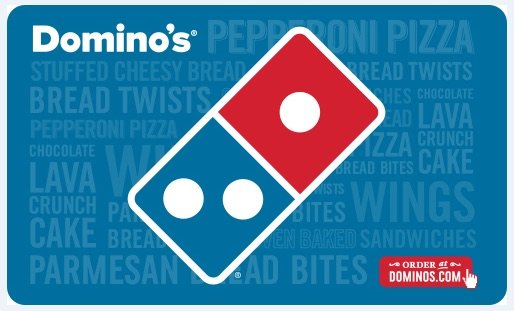 Domino's Pizza  $50电子礼卡限时优惠
