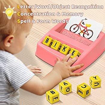 HahaGift 早教单词拼写玩具,含60个常见词题卡