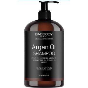 Now$9.81 (was$17.95)Amazon.com Baebody Moroccan Argan Oil Shampoo 16 Oz