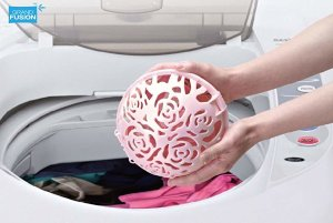 Amazon.com: Grand Fusion Lady Things Laundry Sphere, Deluxe Bra Washing Ball for Delicates, Lingerie, and Intimates: Home & Kitchen