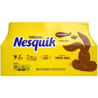Nesquik 低脂巧克力牛奶 12瓶装 含高蛋白