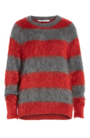 T by Alexander Wang Mohair Blend Stripe Sweater | Nordstrom