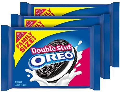 Double Stuf巧克力三明治饼干促销