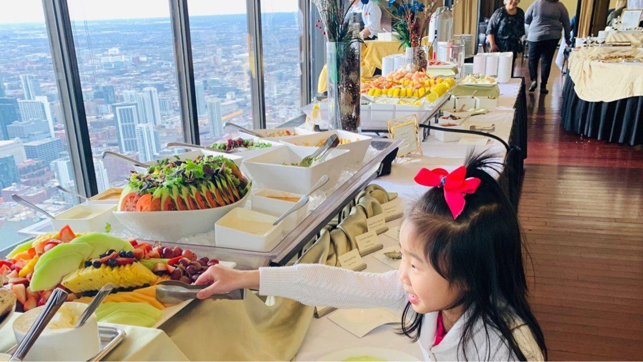 芝加哥网红餐厅 | 全景观就餐体验
