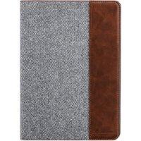 Setton Brothers 9.7吋 iPad Pro 超薄支架保护壳 浅灰/棕色