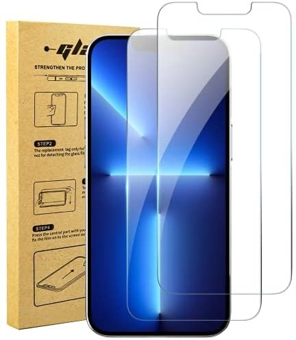 xiwxi iPhone 13/Pro 钢化玻璃屏幕保护膜 2张