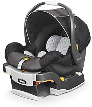 Amazon.com : Chicco Keyfit 30 Infant Car Seat - Iron, Black : Baby