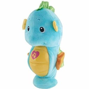 Amazon.com: Fisher-Price Soothe & Glow Seahorse, Blue: Toys & Games