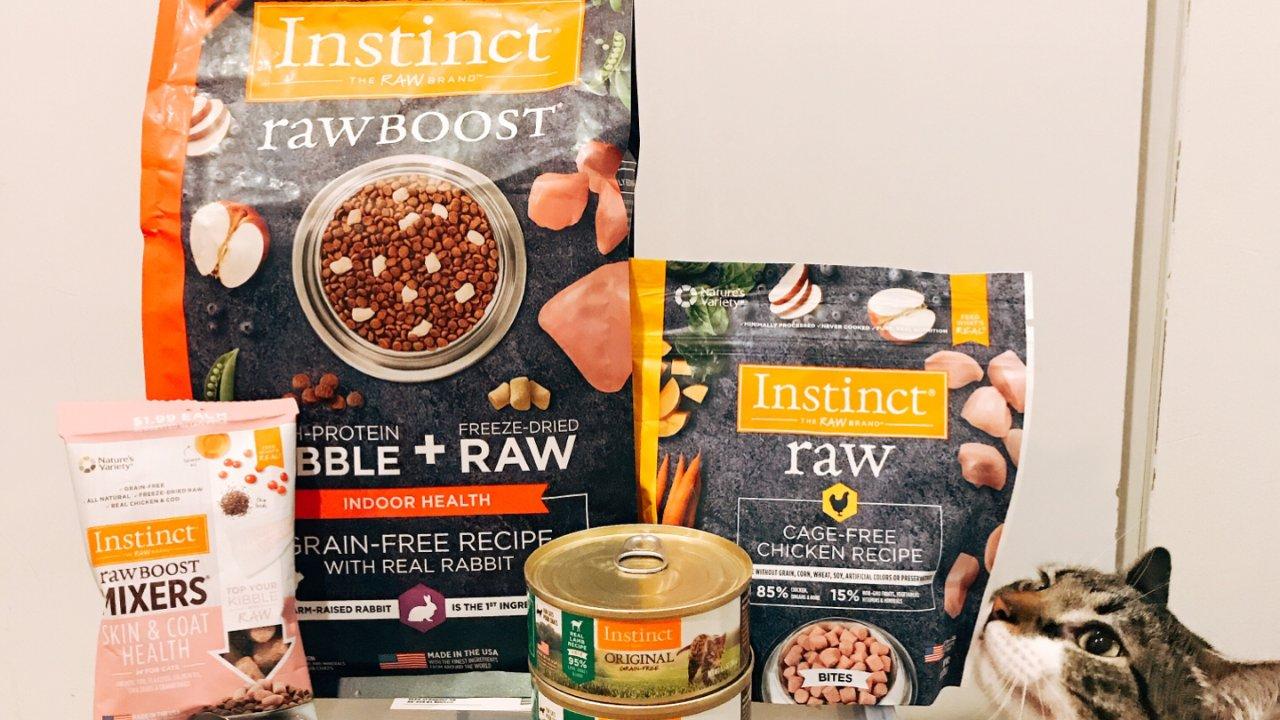Instinct猫粮产品购买和经验分享❣️