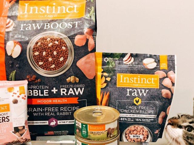 Instinct猫粮产品购买和经验...