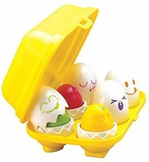 Amazon.com: TOMY Toomies Hide & Squeak Eggs | Easter Egg Toddler Toys | Matching & Sorting Learning Toys |Top Toy for Easter Baskets| FFP: Toys & Games