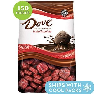 DOVE PROMISES 黑巧克力 43.07oz 153颗