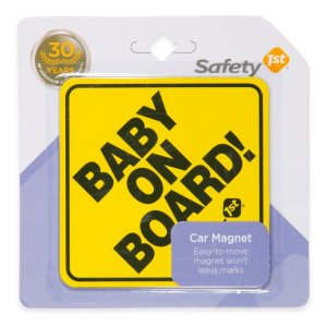 Safety 1st® Baby on Board Car Magnet | buybuy BABY