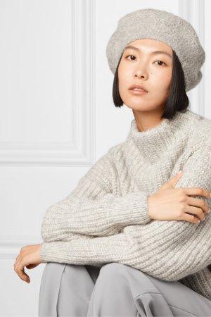 Lauren Manoogian | Alpaca and wool-blend beret | NET-A-PORTER.COM