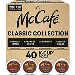McCafé 经典系列K cup咖啡胶囊 综合口味40颗