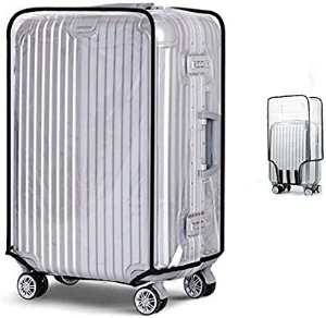 Amazon.com   Gigabit Luggage Protector Case PVC Baggage Cover Suitcase Protective Cover   Suitcases