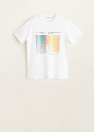 Photo print t-shirt - Men | Mango Man USA