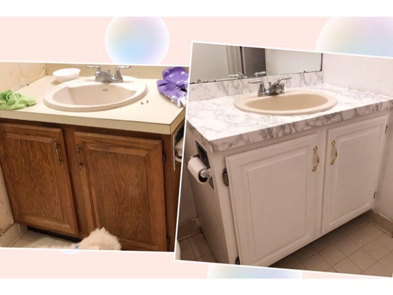 让你的洗手台闪亮起来,Step by step DIY教程