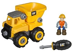 Amazon.com: Toy State Caterpillar CAT Junior Operator Dump Truck Construction Vehicle: Toys & Games