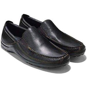 现价$66.66(原价$148)Cole Haan 舒适男士一脚蹬皮鞋