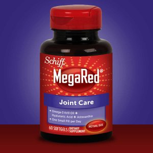 Schiff MegaRed Joint Care, 60 Softgels