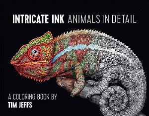 Amazon.com: Intricate Ink: Animals in Detail: A Coloring Book by Tim Jeffs (9780764974694): Tim Jeffs: Books