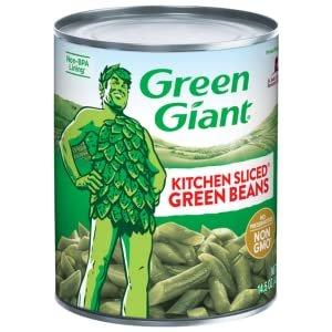 Green Giant 罐装切条绿豆角 14.5oz 4罐