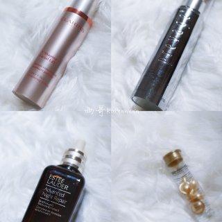 四款大牌精华对比测评——小棕瓶、橘灿、V脸、金胶