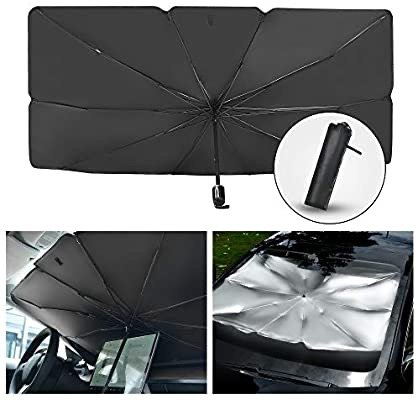 Sacstar 汽车前挡风玻璃可折叠遮阳帘
