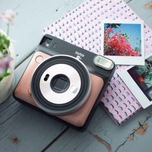 Fujifilm Instax Square SQ6 拍立得相机 + 10张相纸
