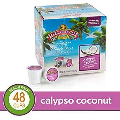 Margaritaville Calyspo Coconut for K-Cup Keurig 2.0 Brewers, 48 Count