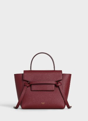 Nano Belt bag in grained calfskin | CELINE Official Website