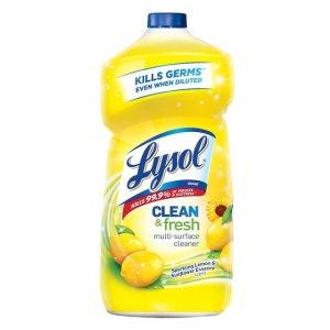 $2.99Lysol 多用途清洁剂柠檬花香40oz