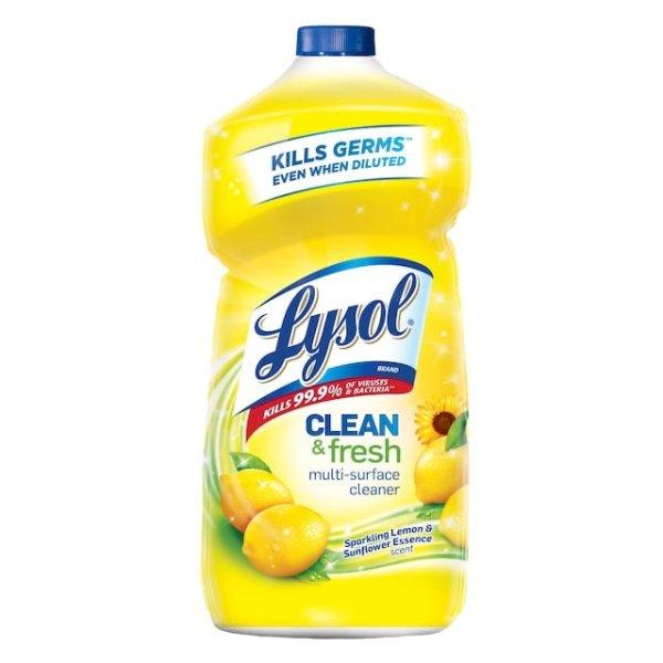 Lysol 多用途清洁剂柠檬花香40oz