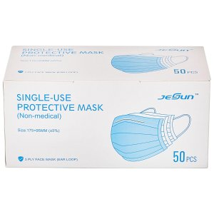 $8.98CleanHome Disposable Face Mask, 3 Ply (50 ct.)