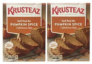 Amazon.com : Krusteaz Pumpkin Spice Quick Bread Supreme Mix (Two Pack) 15 Oz Boxes : Pumpkin Spice Pancake Mix : Grocery & Gourmet Food